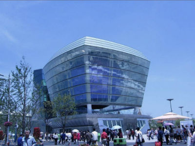 Taiwan Pavilion from Shanghai Expo 2010 (photo by Kate)
