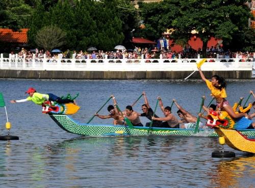 2018 Dragon Boat Festival in Taiwan