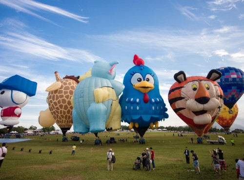 Taiwan Hot Air Balloon Festival starts June 30 at Taitung