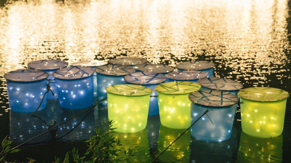月津港燈節作品之一【月光光果實】/易冶設計