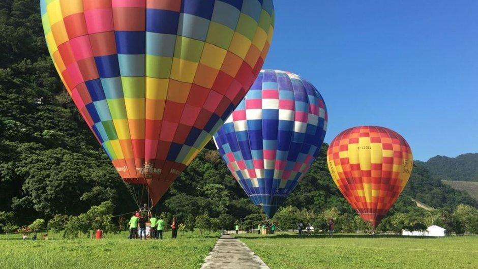 石門水庫熱氣球嘉年華將在南苑生態公園舉行