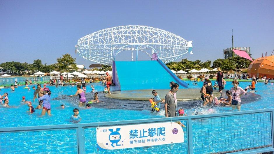 童玩節的玩水設施每年都令人期待
