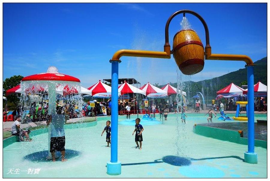 清澈的水質讓家長放心、小孩玩得開心