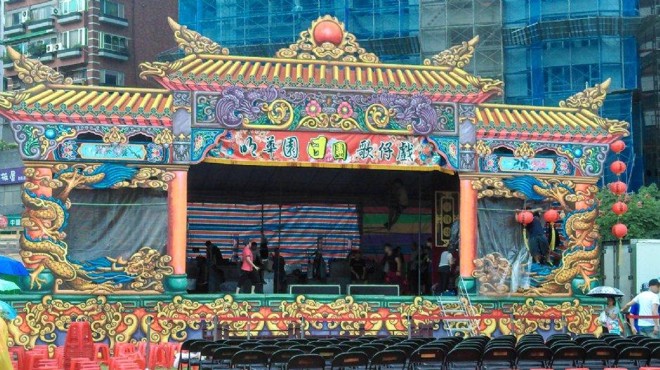 連續多年在台北溫泉季演出的明華園劇團