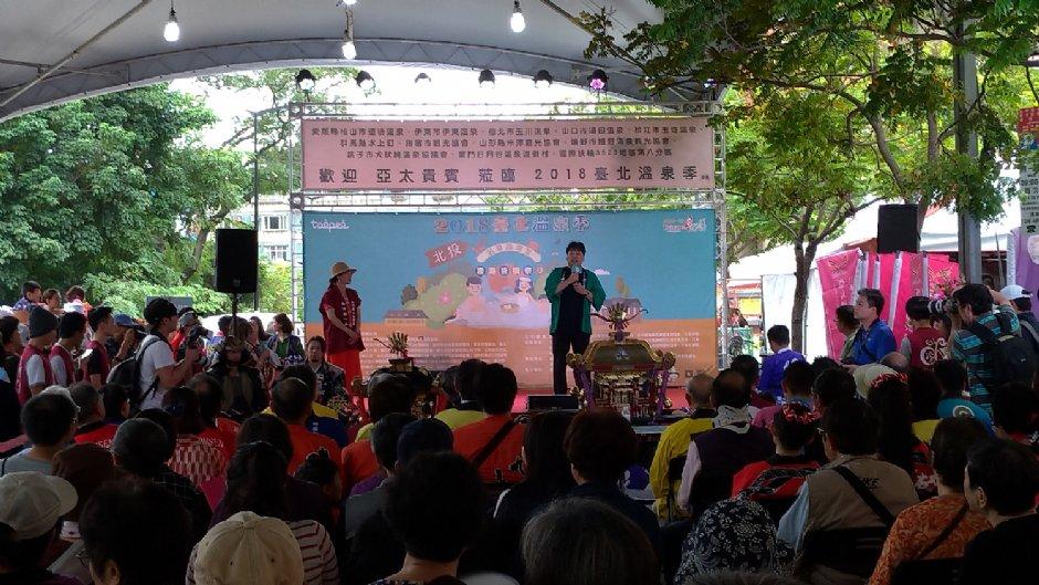 熱鬧的活動吸引許多人參與