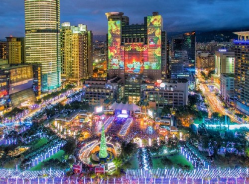 新北歡樂耶誕城大走星際風  耶誕樂園11/16奇幻開城