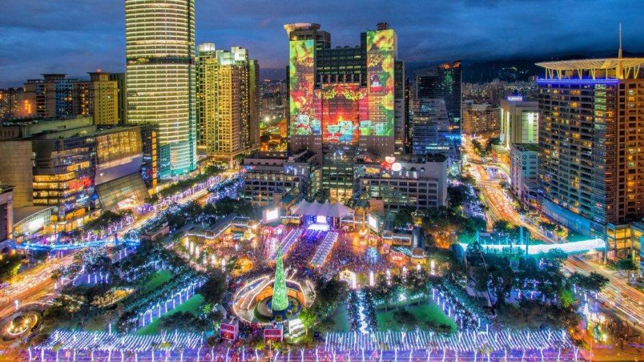 新北市歡樂耶誕城讓整個城市亮了起來