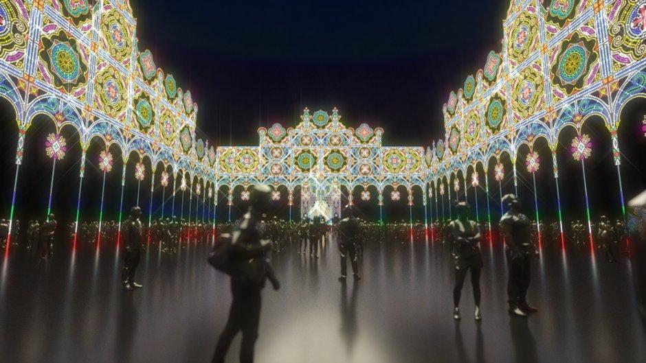 台北光之饗宴模擬圖