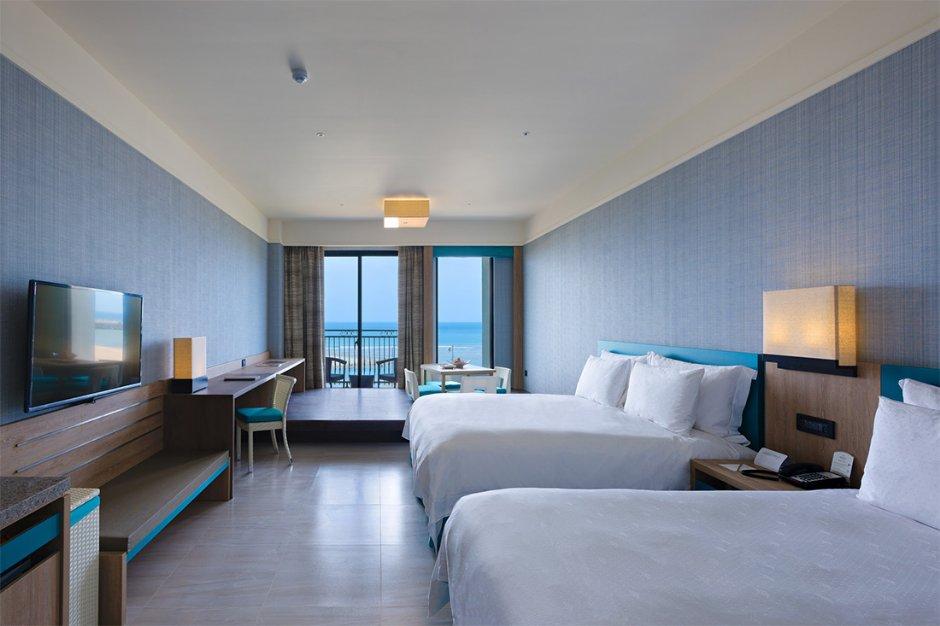 福容大飯店-福隆擁有寬闊的海景視野