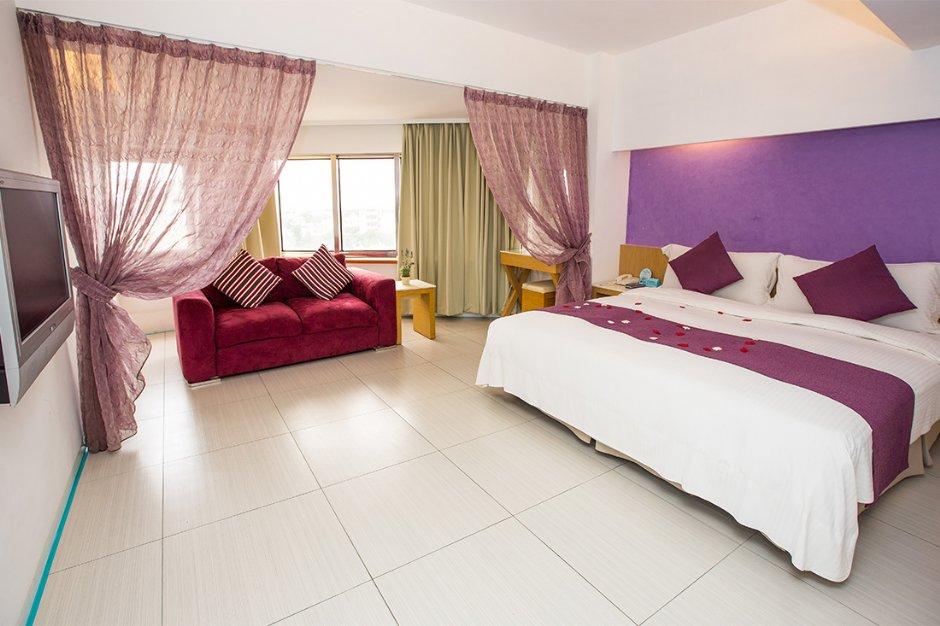 長春大飯店紫貝殼套房是欣賞煙火的最佳客房