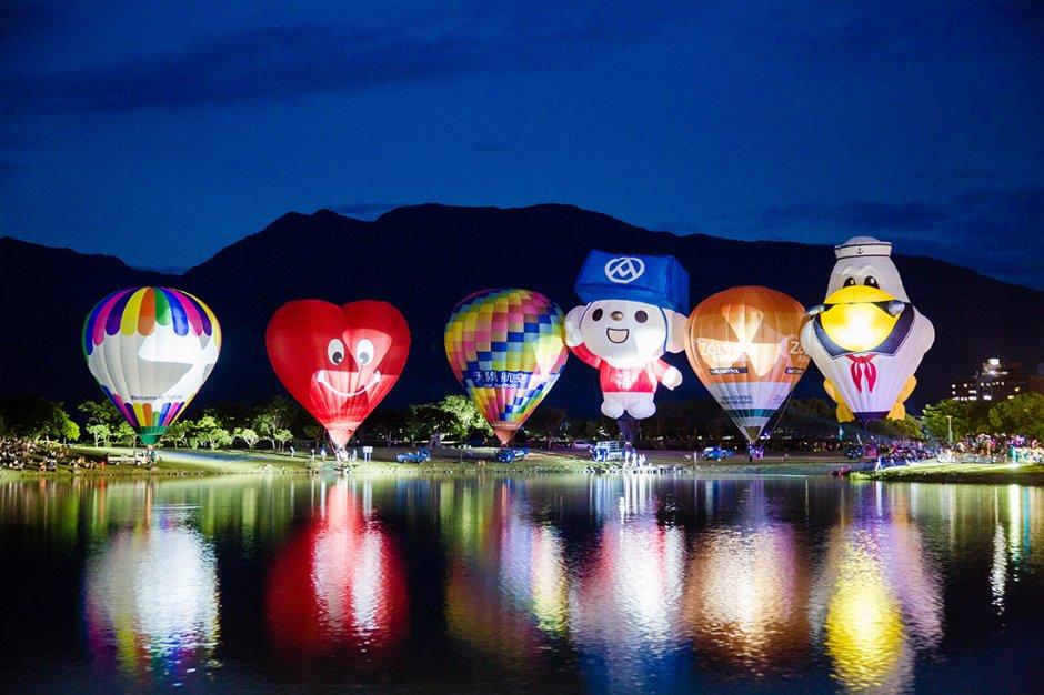台東熱氣球嘉年華-大坡池光雕音樂會
