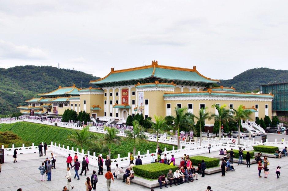 故宮北部院區又有「中華文化寶庫」之美稱