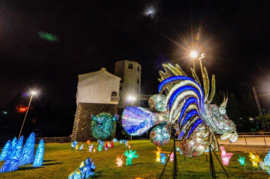 2019澎湖國際海灣燈光節主題燈飾
