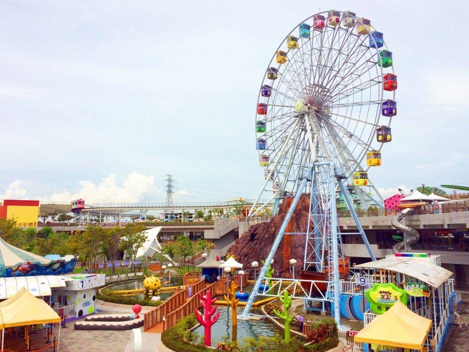 兒童新樂園是專為12歲以下小朋友規劃的遊樂天地
