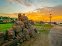 來看沙雕師與時間賽跑【八里城市沙雕展】快閃沙雕9月7日、8日登場