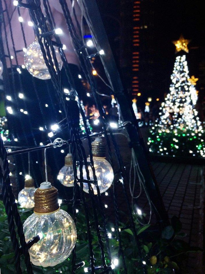 2018首度亮相的「璀燦光樹」就在板橋車站前