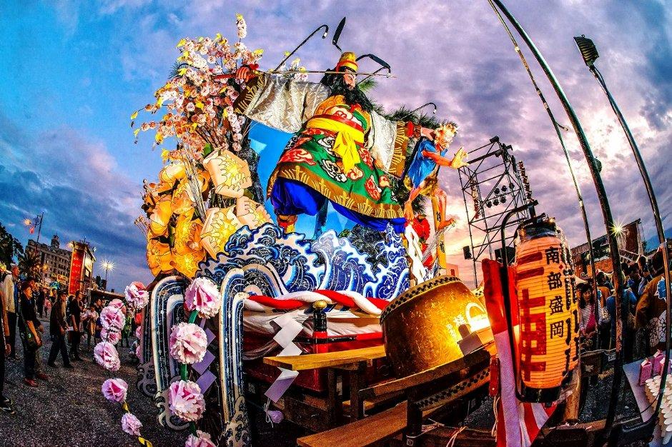 來自日本的「盛岡山車」是岩手縣盛岡市的重要文化資產