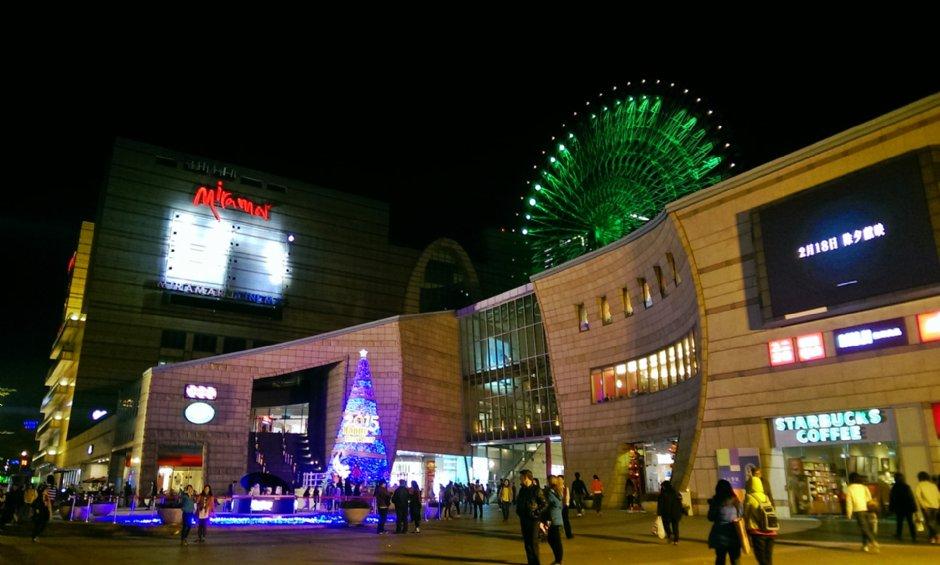 位於大直的「美麗華百樂園」擁有全台首創百米摩天輪