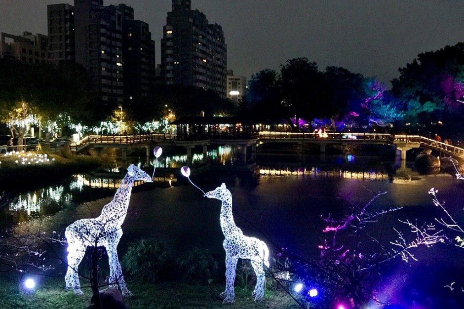 新竹「城市躲貓貓」燈展,白天、夜晚各有不同氛圍