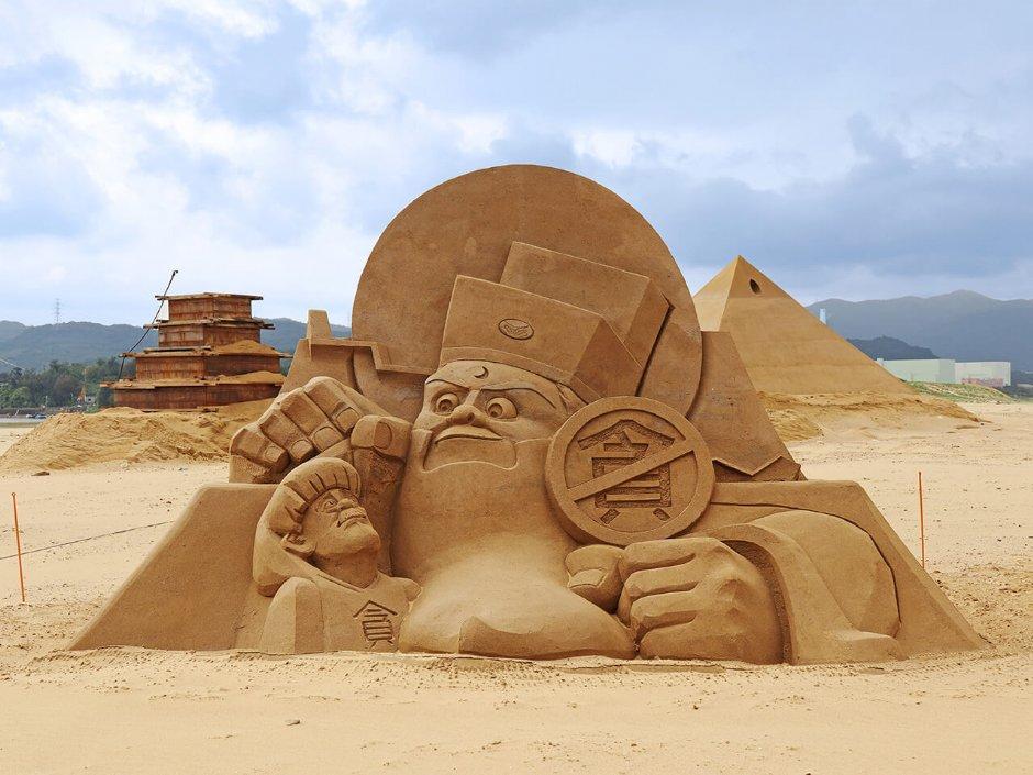 逗趣的沙雕造型「包青天傳奇」