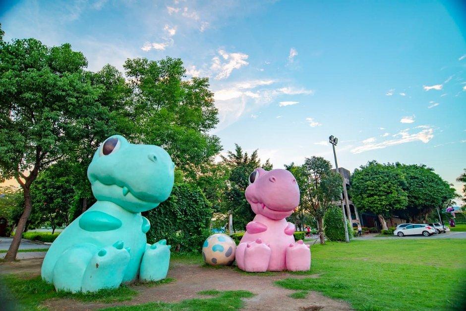 板橋435藝文特區的馬卡龍寶寶將在新北大都會公園與小朋友見面