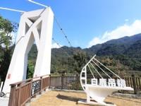 谷關旅遊新景點!台中最長美橋「白鹿吊橋」重新啟用