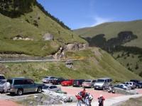 合歡山莊停車場<br/> 攝影:老山羊部落格