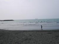 西子灣海水浴場<br/> 攝影:三井