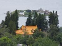 遠眺玄光寺與拉魯島<br/> 攝影:Eva隨手拍