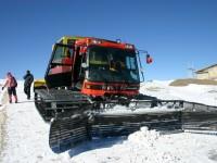 上天池的雪車<br/> 攝影:馮順