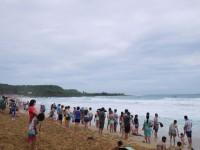 201408颱風影響波濤洶湧<br/> 攝影:三個井