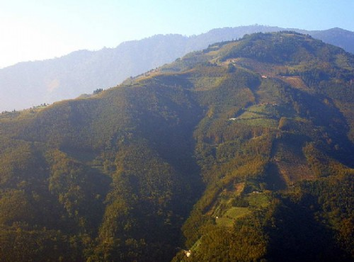 達觀山上的景色
