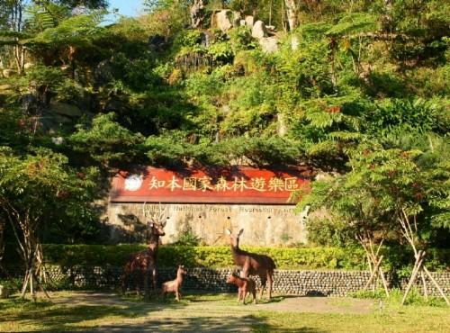 知本国家森林游乐区-遊樂區指示牌
