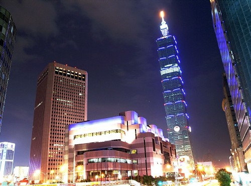 Taipei 101 Shopping Mall-skyscrapers