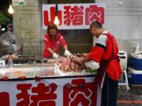 山豬肉攤位<br/> 攝影:kavin