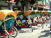 旗津風景區觀光三輪車<br/> 攝影:吳浚騰