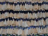 整排的原住民文物<br/> 攝影:老山羊部落格