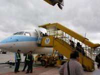飛往澎湖的飛機<br/> 攝影:Eva隨手拍