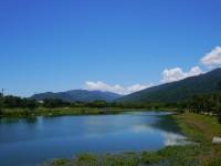 台東大學知本校區鏡心湖<br/> 攝影:旅遊王攝影組