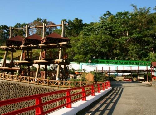 知本国家森林游乐区-遊樂區大門口