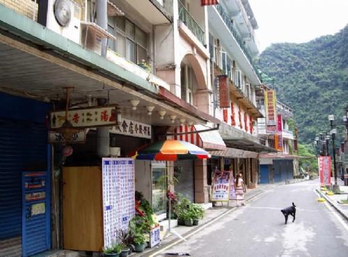 烏來溫泉-瀑布路街景