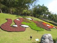 草坪造型花草<br/> 攝影:簡時強