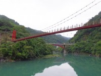 烏來吊橋<br/> 攝影:Eva隨手拍