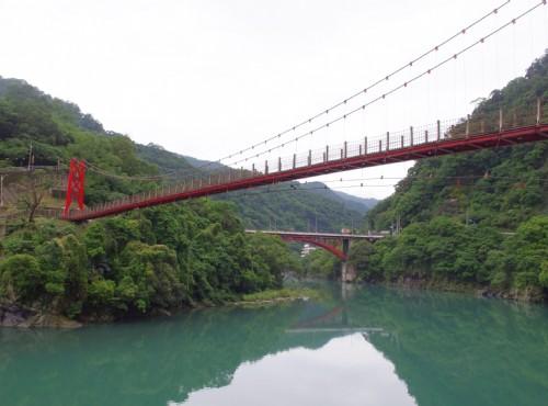 烏來溫泉-烏來吊橋