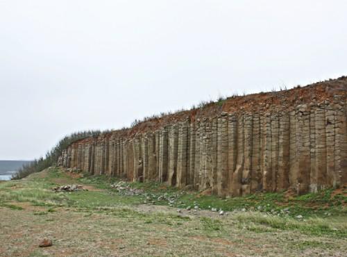 大菓葉柱狀玄武岩-大菓葉柱狀玄武岩