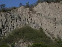 只有山頂有草木<br/> 攝影:老山羊部落格