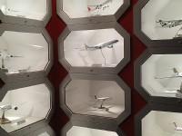 觀景台飛機模型<br/> 攝影:Eva隨手拍