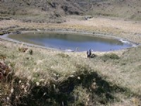 七彩姐妹湖之妹湖<br/> 攝影:阿英的登山小站