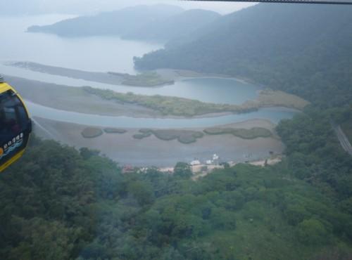 大竹湖水鳥保護區-纜車上鳥瞰大竹湖