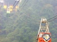 纜車與山巒<br/> 攝影:林仲哲